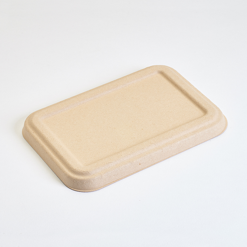 Tapa recipiente rectangular caña de azúcar 700 ml